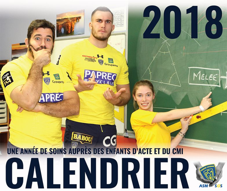 sortie du calendrier asm sos dimanche pour la r ception des saracens asm rugby. Black Bedroom Furniture Sets. Home Design Ideas