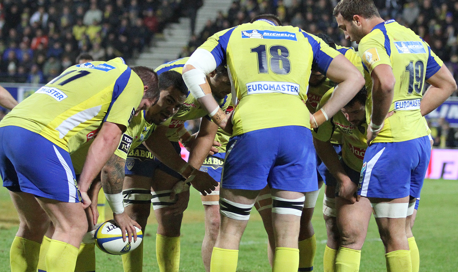 clermont devra faire avec 13 joueurs en moins asm rugby. Black Bedroom Furniture Sets. Home Design Ideas