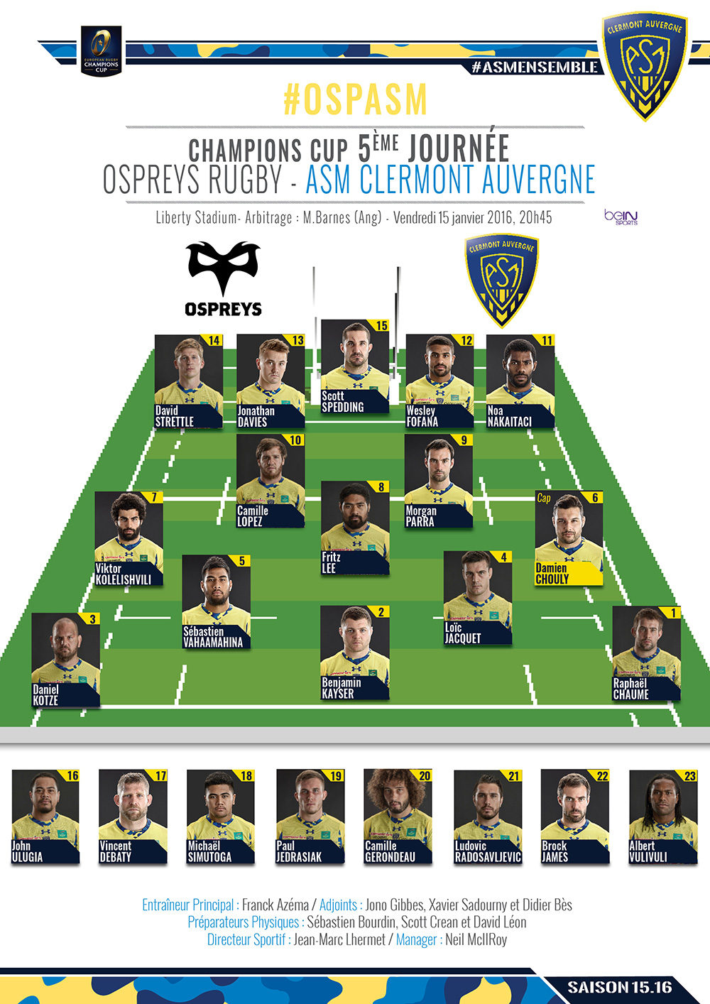 Ospreys - ASM Clermont 160114-compo-2