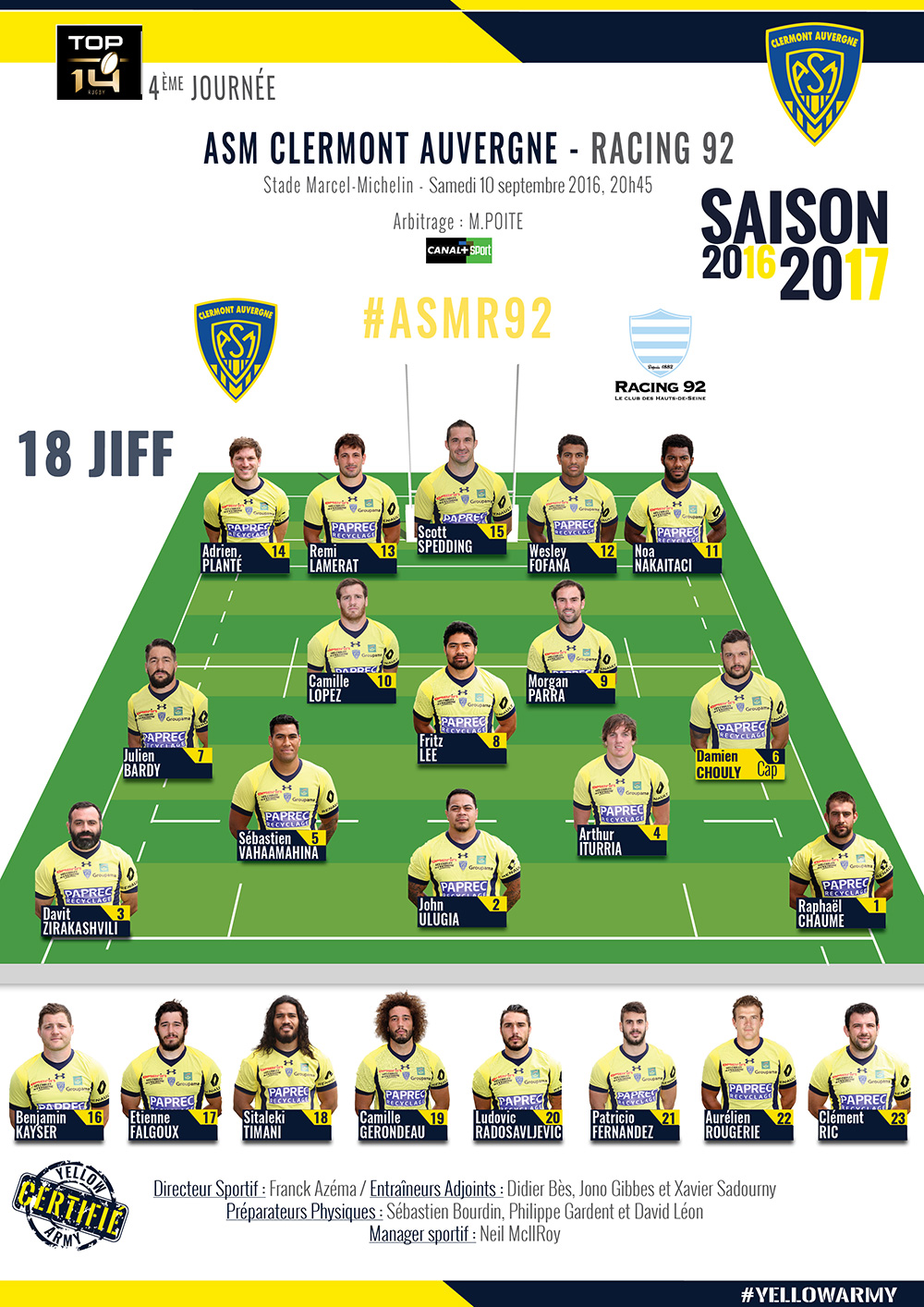 ASM Clermont - Racing 92 160909-compo-2