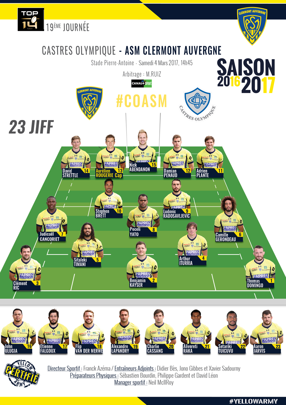 Castres - ASM Clermont 170303-compo_0